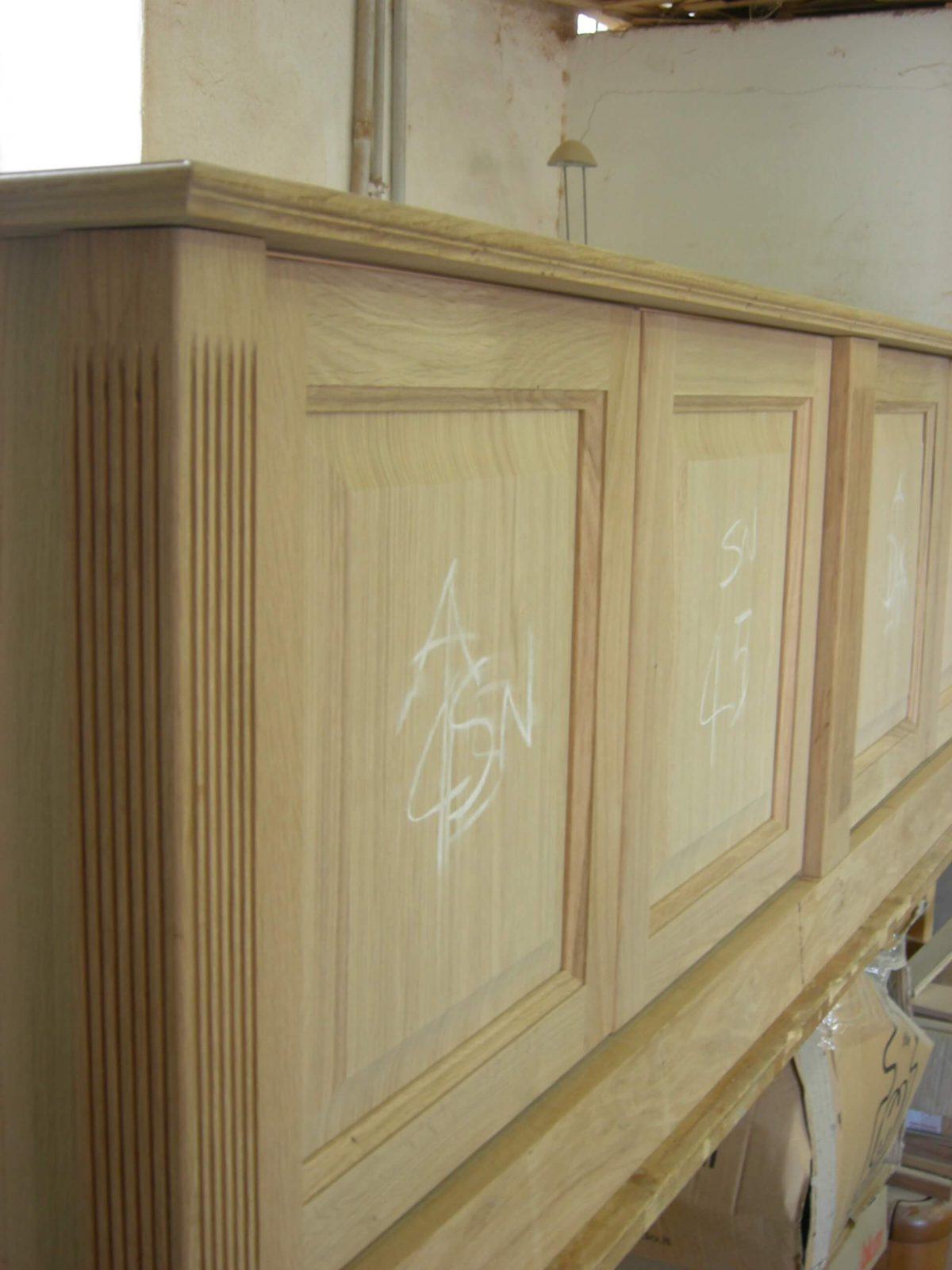 Bespoke classic Oak furniture and cabinetery