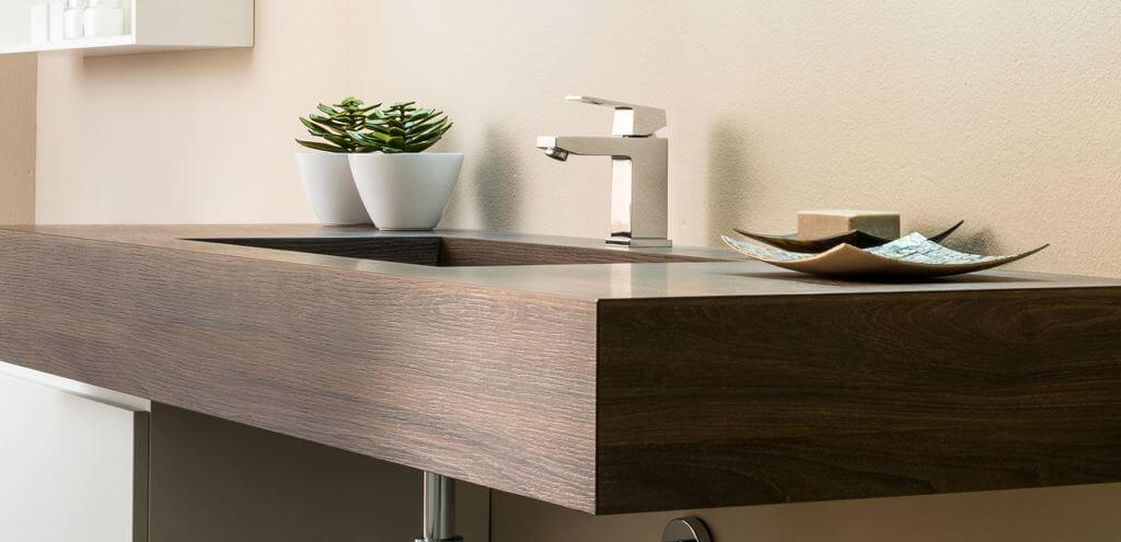 Walnut Basin side view